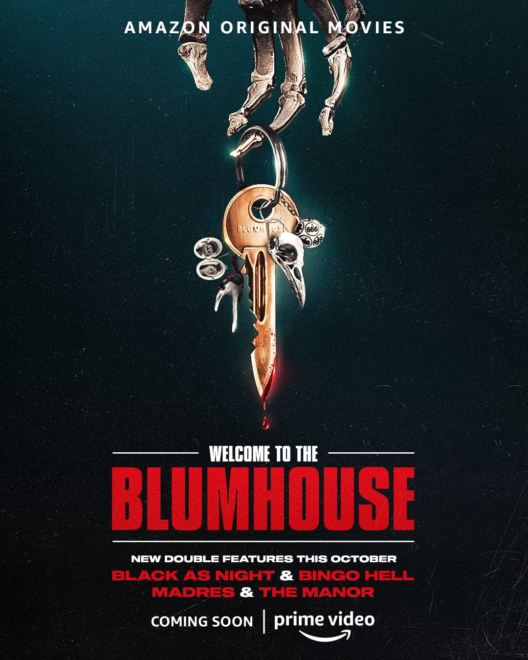 Poster for Welcome to the Blumhouse